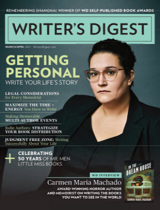Writer's Digest March April 2021