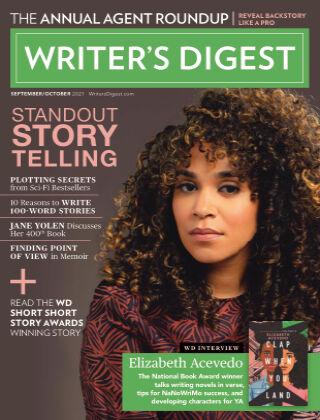 Writer's Digest Sept & Oct 2021