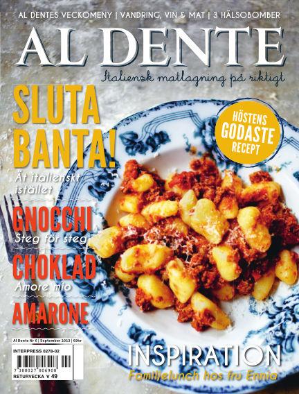 Al Dente (Inga nya utgåvor) September 24, 2013 00:00