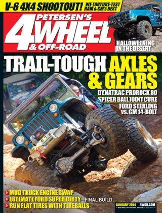 4 Wheel & Off-Road January 2014
