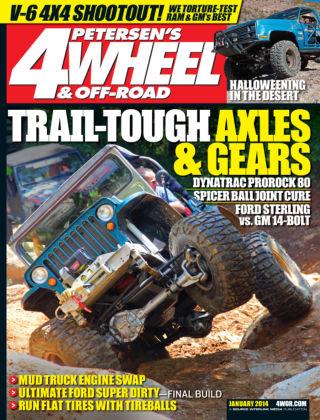 4 Wheel & Off-Road January 2014