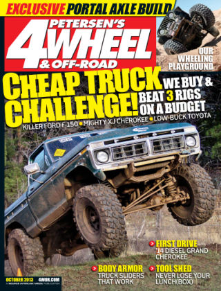 4 Wheel & Off-Road October 2013