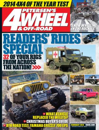 4 Wheel & Off-Road February 2014