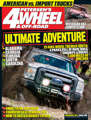 4 Wheel & Off-Road November 2013