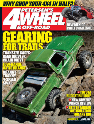 4 Wheel & Off-Road August 2013