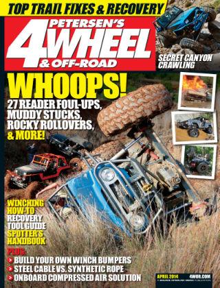 4 Wheel & Off-Road April 2014