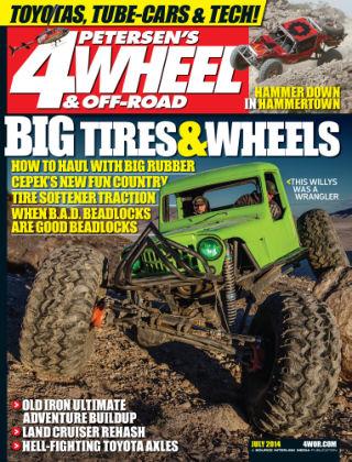 4 Wheel & Off-Road July 2014