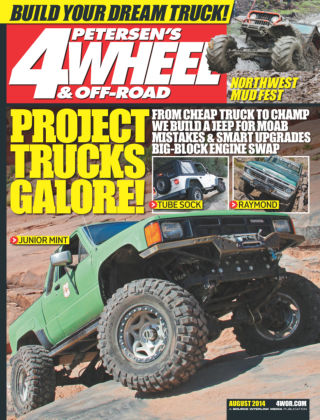 4 Wheel & Off-Road August 2014