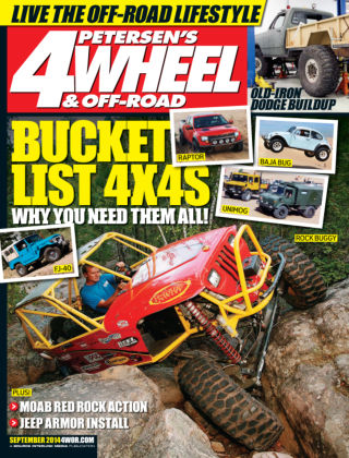 4 Wheel & Off-Road September 2014