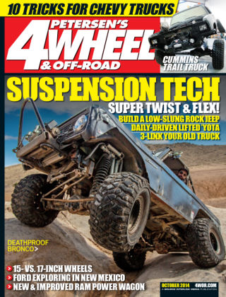 4 Wheel & Off-Road October 2014