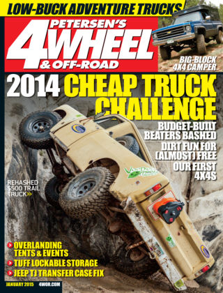 4 Wheel & Off-Road January 2015