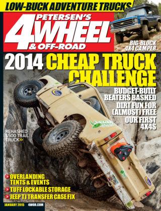 4 Wheel & Off-Road January 2015