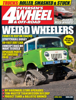4 Wheel & Off-Road April 2015