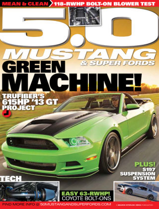 5.0 Mustang & Super Fords August 2013