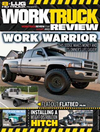 8-Lug HD Truck August 2013
