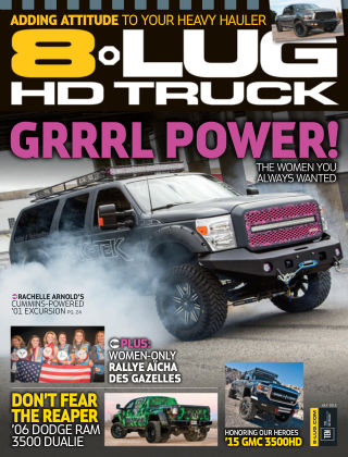 8-Lug HD Truck July 2015