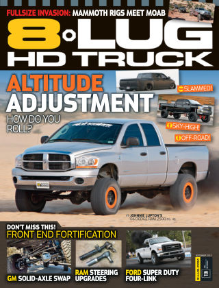 8-Lug HD Truck September 2015