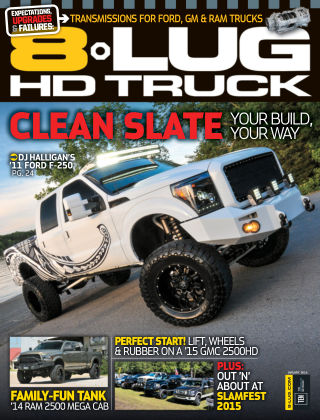 8-Lug HD Truck Jan 2016