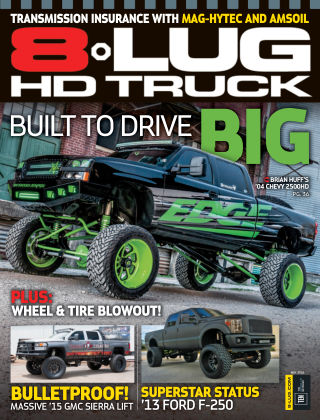8-Lug HD Truck May 2016