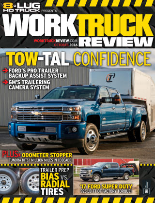 8-Lug HD Truck Oct 2016