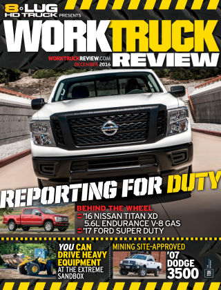 8-Lug HD Truck Dec 2016