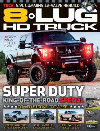 8-Lug HD Truck Jan 2017