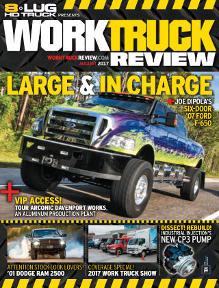 8-Lug HD Truck Aug 2017