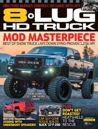 8-Lug HD Truck Nov 2017