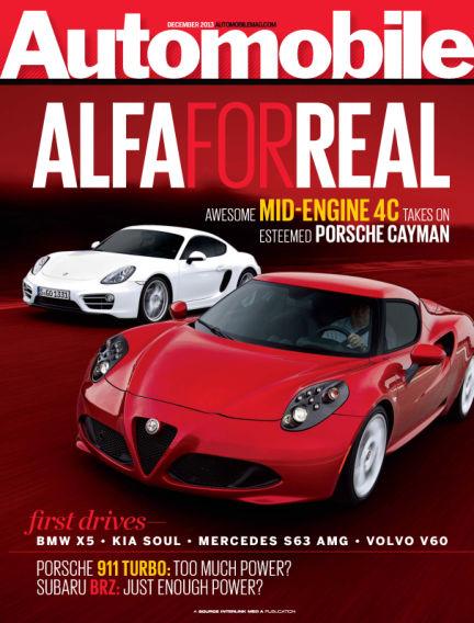 Automobile November 05, 2013 00:00