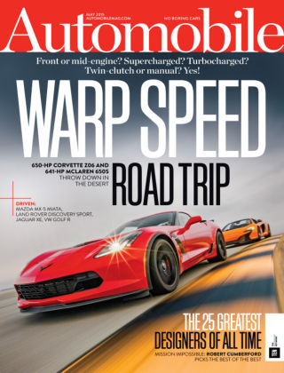 Automobile May 2015