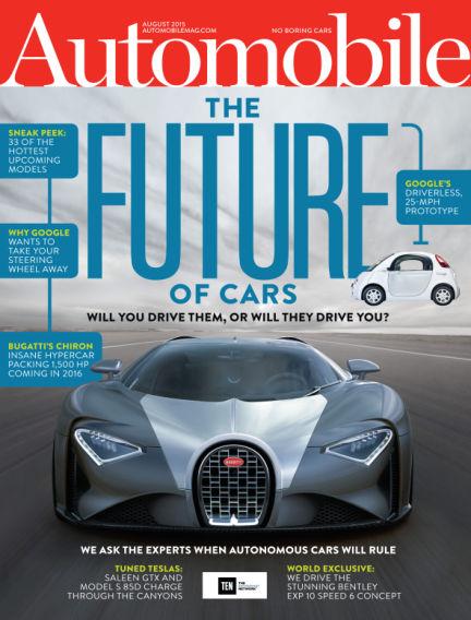 Automobile June 26, 2015 00:00
