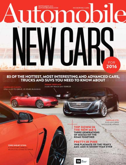 Automobile July 24, 2015 00:00