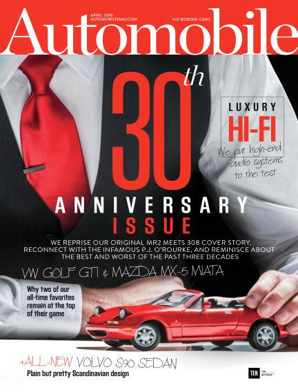 Automobile February 19, 2016 00:00