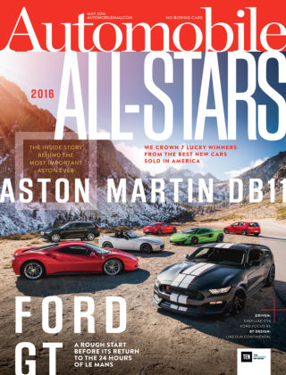 Automobile May 2016