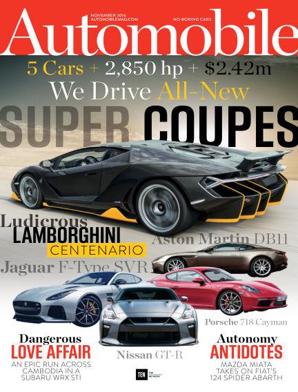 Automobile September 23, 2016 00:00