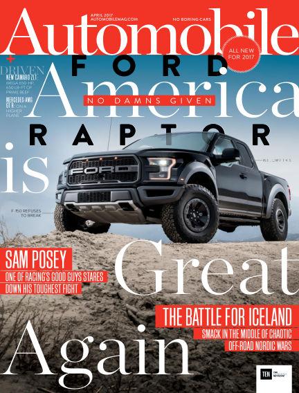Automobile February 17, 2017 00:00