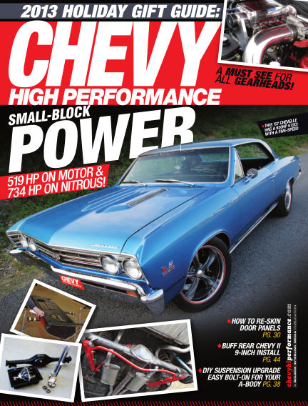 Chevy High Performance October 01, 2013 00:00