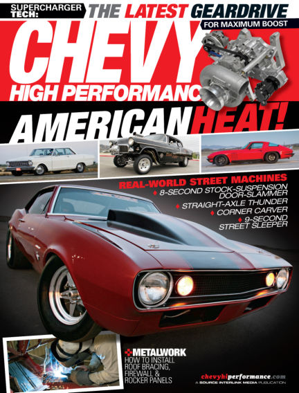 Chevy High Performance July 02, 2013 00:00