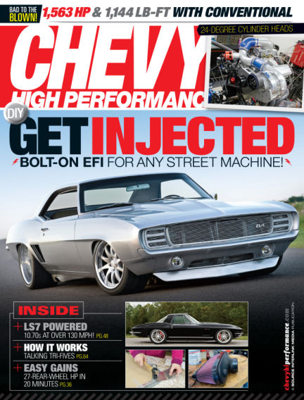 Chevy High Performance March 28, 2014 00:00