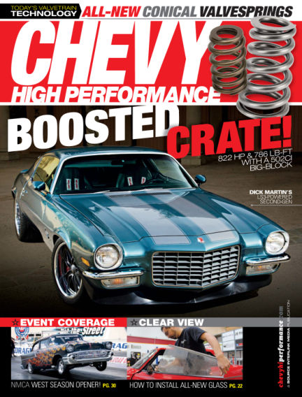 Chevy High Performance August 01, 2014 00:00
