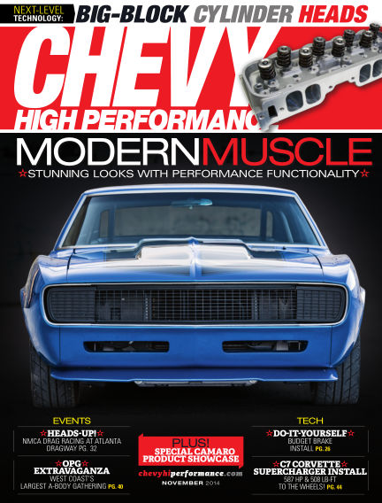 Chevy High Performance August 29, 2014 00:00