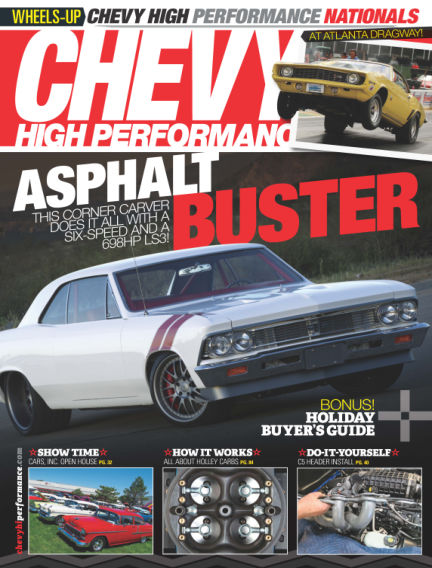 Chevy High Performance October 03, 2014 00:00