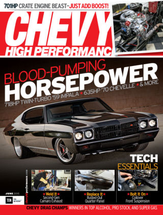 Chevy High Performance June 2015