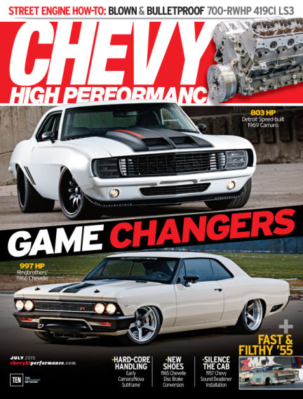 Chevy High Performance April 24, 2015 00:00