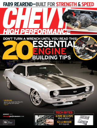 Chevy High Performance August 2015