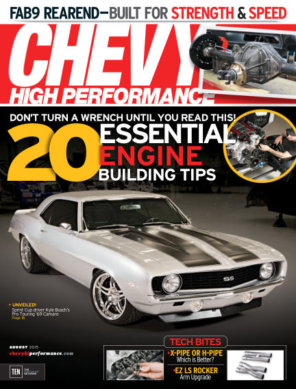Chevy High Performance May 29, 2015 00:00