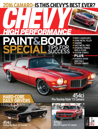 Chevy High Performance October 2015