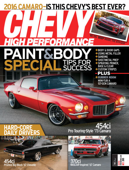 Chevy High Performance July 31, 2015 00:00