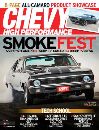 Chevy High Performance November 2015