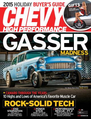 Chevy High Performance December 2015